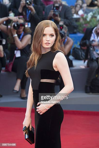 Actress Ellie Bamber attends the red carpet of Tom Ford's movie 'Nocturnal Animals' during 73rd Venice Film Festival at Venice Lido Italy on...