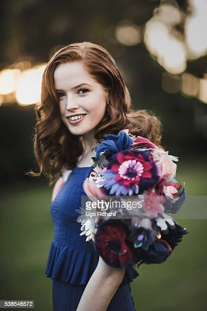 Actress Ellie Bamber is photographed for Self Assignment on May 15 2016 in Cannes France