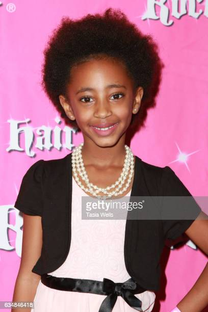 Actress Ellie Grace Siler attends Rock Your Hair presents Valentine's Rocks at The Avalon Hotel on February 11 2017 in Los Angeles California