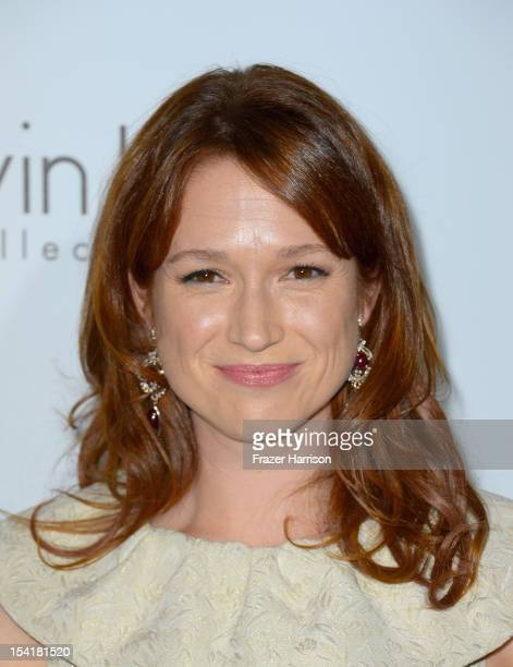 Actress Ellie Kemper arrives at ELLE's 19th Annual Women In Hollywood Celebration at the Four Seasons Hotel on October 15 2012 in Beverly Hills...