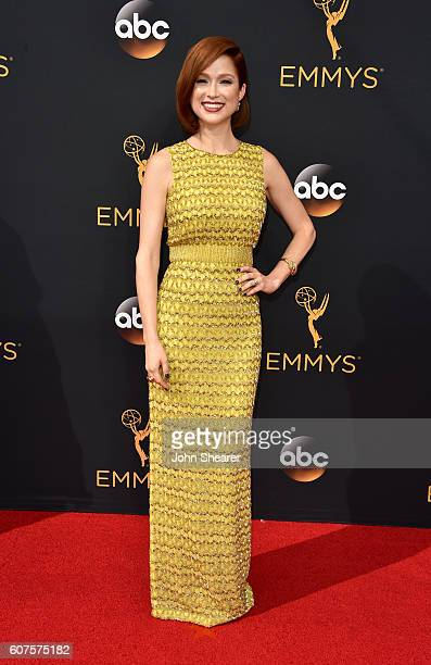 Actress Ellie Kemper arrives at the 68th Annual Primetime Emmy Awards at Microsoft Theater on September 18 2016 in Los Angeles California