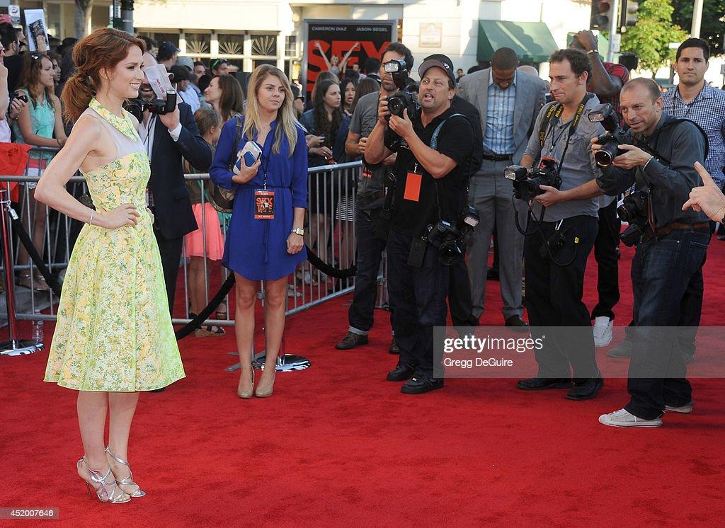 'Sex Tape' - Los Angeles Premiere - Arrivals : News Photo