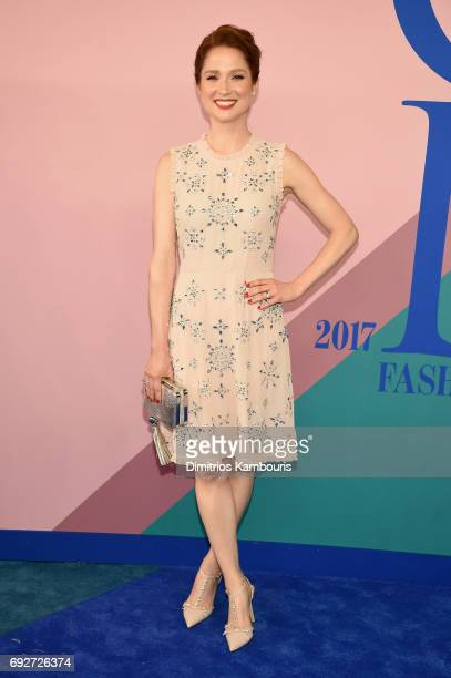 Actress Ellie Kemper attends the 2017 CFDA Fashion Awards at Hammerstein Ballroom on June 5, 2017 in New York City.