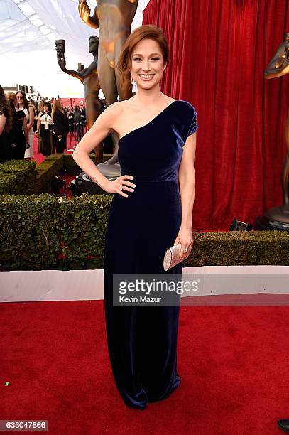 Actress Ellie Kemper attends The 23rd Annual Screen Actors Guild Awards at The Shrine Auditorium on January 29, 2017 in Los Angeles, California....