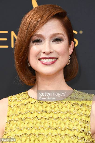 Actress Ellie Kemper attends the 68th Annual Primetime Emmy Awards at Microsoft Theater on September 18, 2016 in Los Angeles, California.