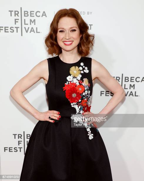 Actress Ellie Kemper attends the premiere of 'The Unbreakable Kimmy Schmidt' during the 2017 Tribeca Film Festival at Borough of Manhattan Community...