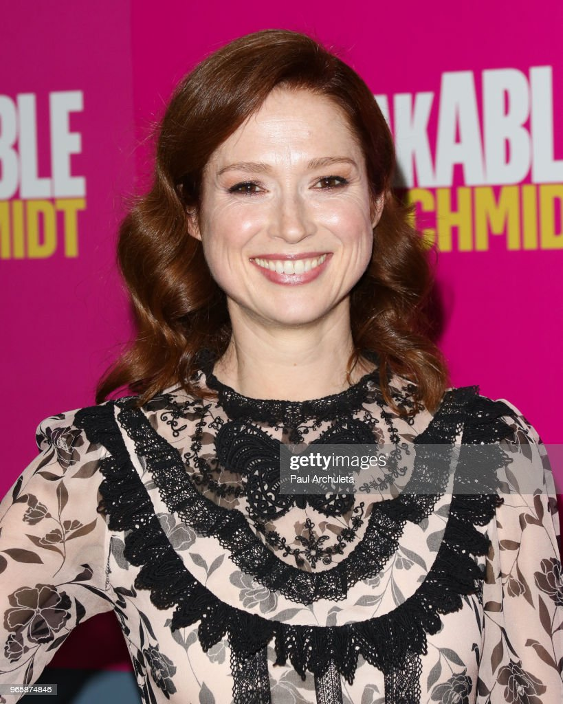 Actress Ellie Kemper attends Universal Television's FYC of the 'Unbreakable Kimmy Schmidt' at UCB Sunset Theater on June 1, 2018 in Los Angeles, California.