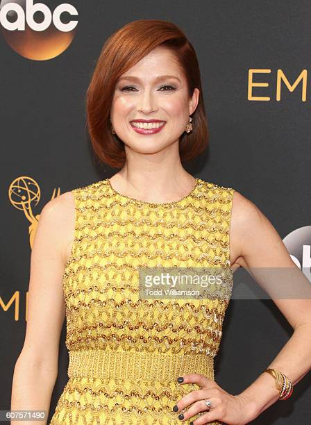 Actress Ellie Kemperattends the 68th Annual Primetime Emmy Awards at Microsoft Theater on September 18, 2016 in Los Angeles, California.