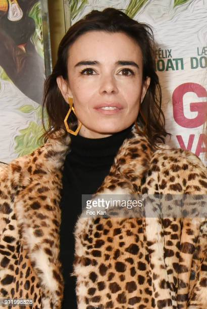 Actress Elodie Bouchez attends 'Gaspard Va Au Mariage' premiere at UGC Cite Les Halles on January 29 2018 in Paris France