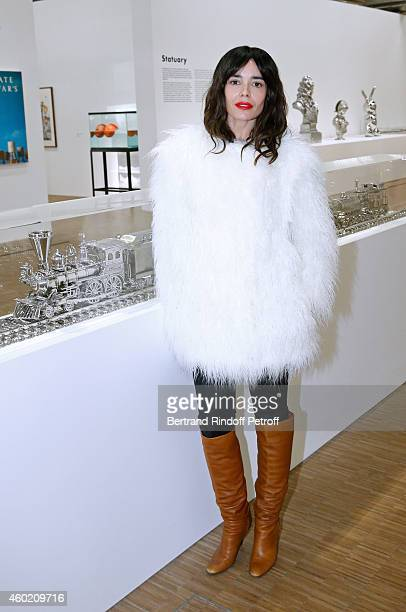 Actress Elodie Bouchez attends the Handbag Jeff Koons Presentation during the 'Fashion Loves Art' Cocktail Event hosted by HM on December 9 2014 in...