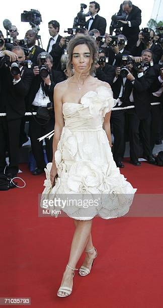 Actress Elodie Bouchez attends the 'Marie Antoinette' premiere at the Palais des Festivals during the 59th International Cannes Film Festival May 24...