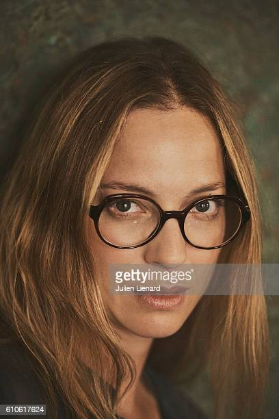 Actress Elodie Frenck is photographed for Le Film Francais on September 8 2016 in Paris France