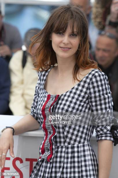 Actress Elodie Navarre attends the photocall for 'Jeunes Talents Adami' during the 66th Annual Cannes Film Festival at the Palais des Festivals on...