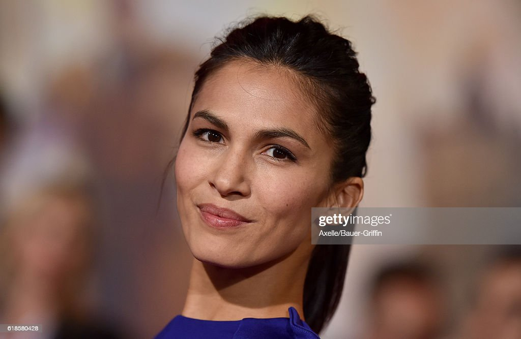 Actress Elodie Yung arrives at the Los Angeles Premiere of 'Doctor Strange' on October 20, 2016 in Hollywood, California.