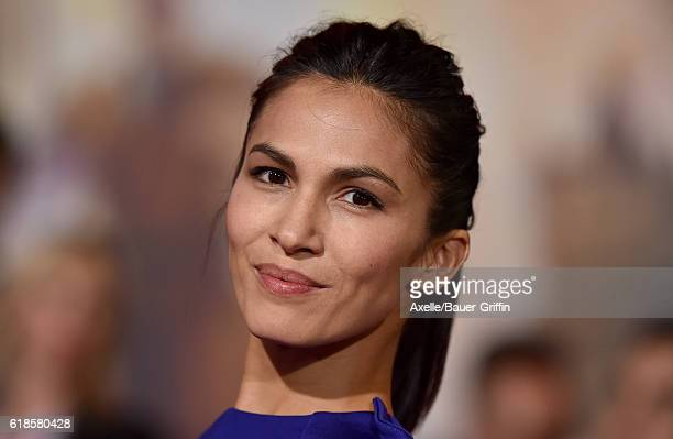 Actress Elodie Yung arrives at the Los Angeles Premiere of 'Doctor Strange' on October 20 2016 in Hollywood California