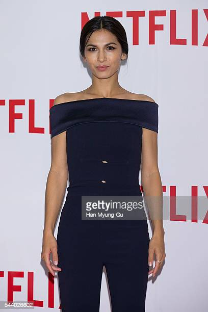 Actress Elodie Yung attends the '2016 Netflix Night In Seoul' at DDP on June 30 2016 in Seoul South Korea