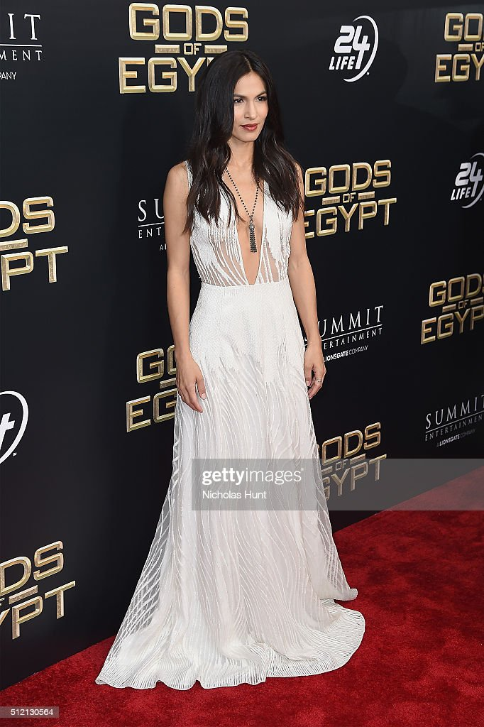Actress Elodie Yung attends the 'Gods Of Egypt' New York Premiere at AMC Loews Lincoln Square 13 on February 24, 2016 in New York City.