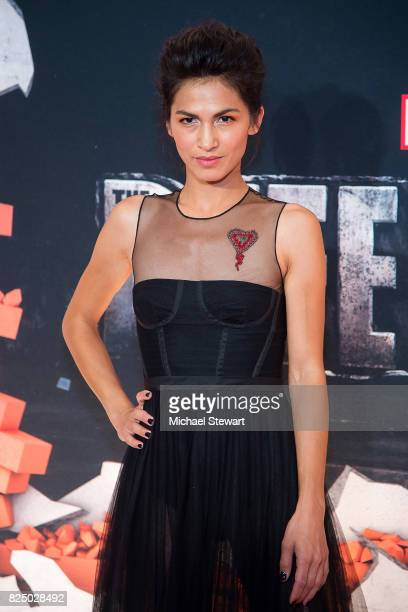 Actress Elodie Yung attends the 'Marvel's The Defenders' New York premiere at Tribeca Performing Arts Center on July 31, 2017 in New York City.