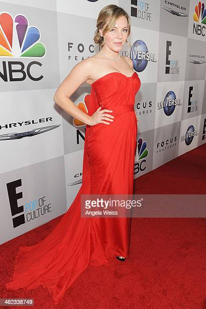 Actress Eloise Mumford attends the Universal NBC Focus Features E sponsored by Chrysler viewing and after party with Gold Meets Golden held at The...