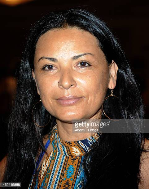 Actress Elpidia Carrillo at the The Hollywood Show held at Westin Los Angeles Airport on July 19 2014 in Los Angeles California
