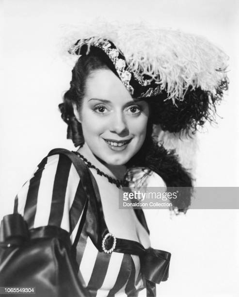 Actress Elsa Lanchester in a scene from the movie Naughty Marietta