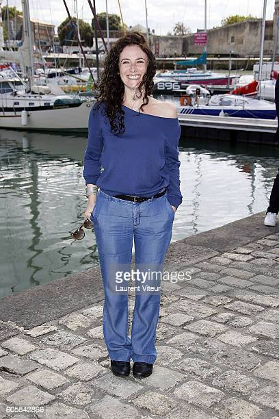 Actress Elsa Lunghini attends the 'Mon Frere Bien Aime' Photocall during the 18th Festival of TV Fiction on September 15, 2016 in La Rochelle, France.