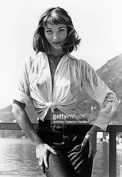 Actress Elsa Martinelli