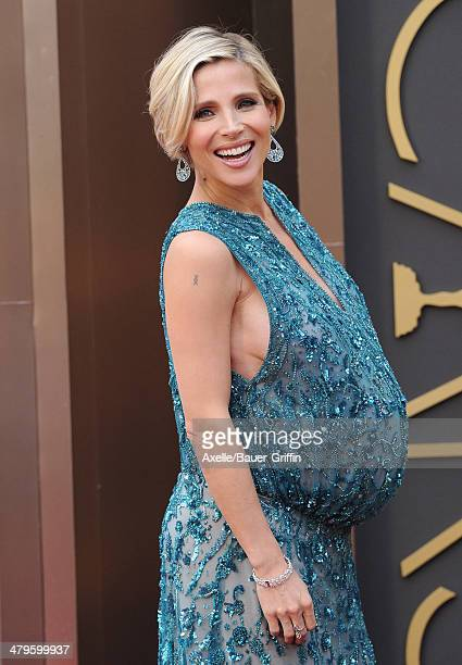 Actress Elsa Pataky arrives at the 86th Annual Academy Awards at Hollywood Highland Center on March 2 2014 in Hollywood California