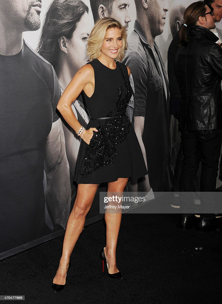 Actress Elsa Pataky arrives at the 'Furious 7' - Los Angeles Premiere at TCL Chinese Theatre IMAX on April 1, 2015 in Hollywood, California.