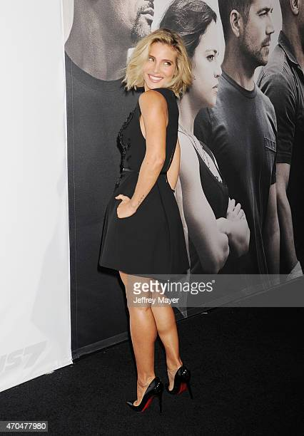 Actress Elsa Pataky arrives at the 'Furious 7' Los Angeles Premiere at TCL Chinese Theatre IMAX on April 1 2015 in Hollywood California