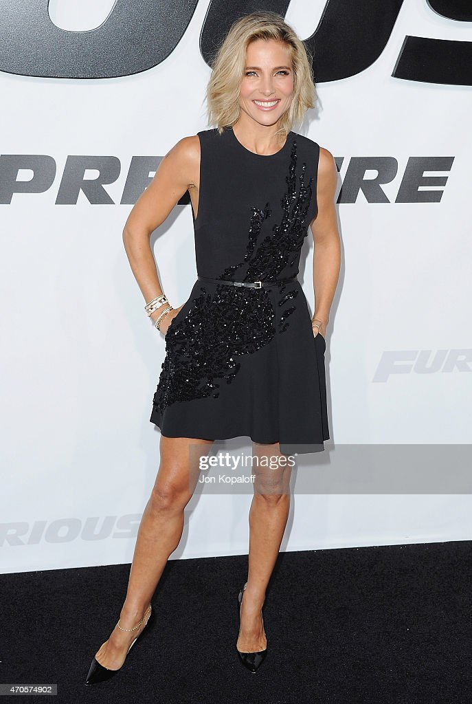 Actress Elsa Pataky arrives at the Los Angeles Premiere 'Furious 7' at TCL Chinese Theatre IMAX on April 1, 2015 in Hollywood, California.
