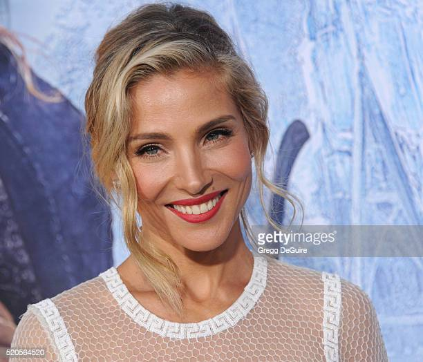 Actress Elsa Pataky arrives at the premiere of Universal Pictures' 'The Huntsman Winter's War' on April 11 2016 in Westwood California