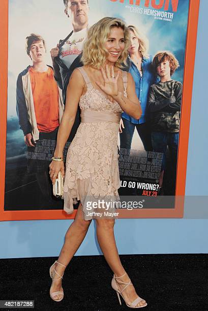 Actress Elsa Pataky arrives at the Premiere Of Warner Bros. 'Vacation' at Regency Village Theatre on July 27, 2015 in Westwood, California.