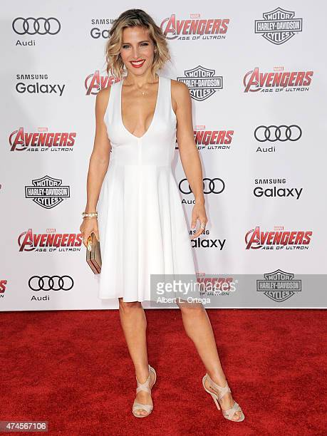 Actress Elsa Pataky arrives for the Premiere Of Marvel's 'Avengers Age Of Ultron' held at Dolby Theatre on April 13 2015 in Hollywood California