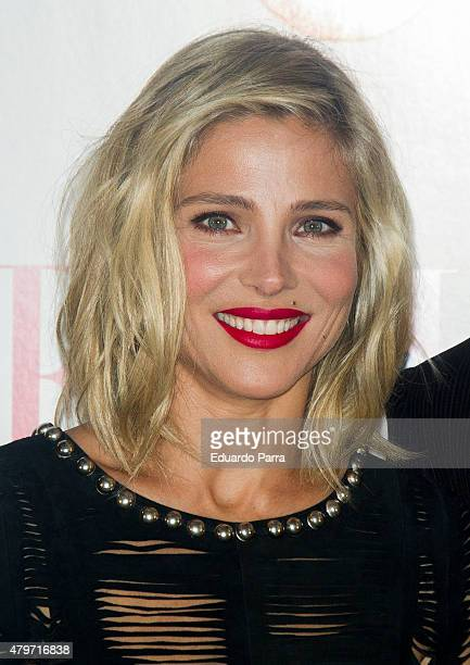 Actress Elsa Pataky attends Elle Gourmet Awards photocall at Italian Embassy on July 6 2015 in Madrid Spain