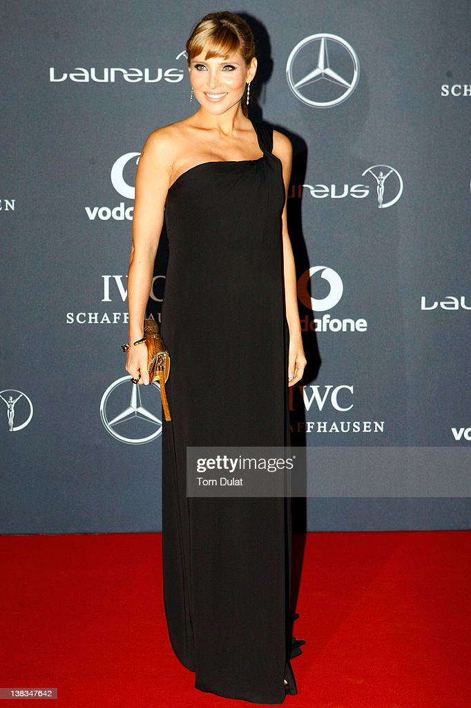 Actress Elsa Pataky attends the 2012 Laureus World Sports Awards at Central Hall Westminster on February 6, 2012 in London, England.