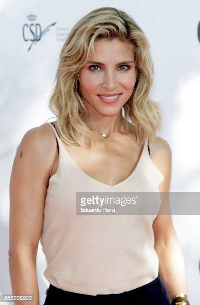 Actress Elsa Pataky attends the 'Glamour Sport Summit' photocall at Residencia de Estudiantes on September 23 2017 in Madrid Spain