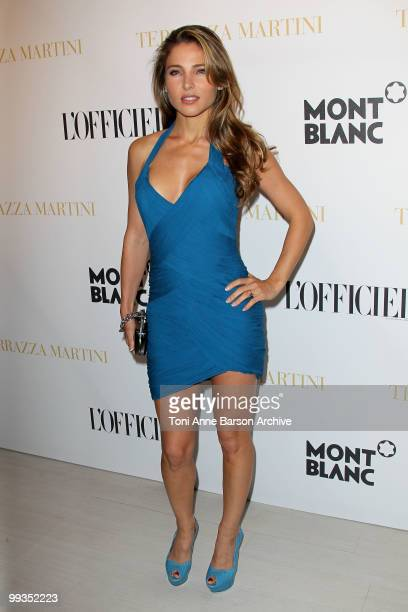 Actress Elsa Pataky attends the Montblanc Party held at the Terraza Martini during the 63rd Annual International Cannes Film Festival on May 14, 2010...