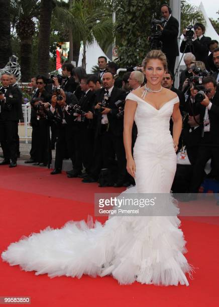Actress Elsa Pataky attends the 'You Will Meet A Tall Dark Stranger' Premiere held at the Palais des Festivals during the 63rd Annual International...