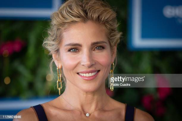 Actress Elsa Pataky presents Gioseppo Spring/Summer 2019 colllection on February 15 2019 in Madrid Spain