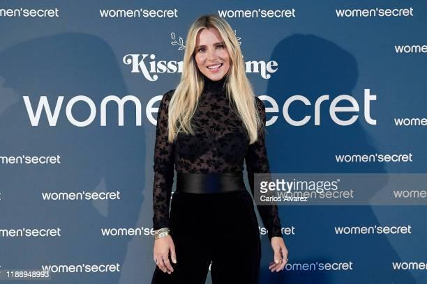 Actress Elsa Pataky presents 'KissMas Time' by Women'Secret at Santa Barbara Palace on November 20 2019 in Madrid Spain