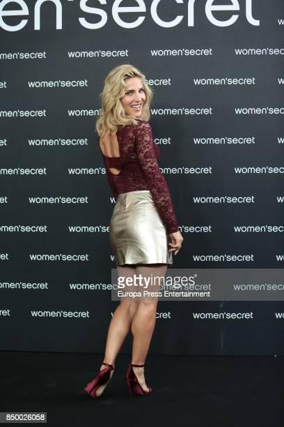 Actress Elsa Pataky presents the new Women'Secret film noir at Camera Studio on September 20 2017 in Madrid Spain