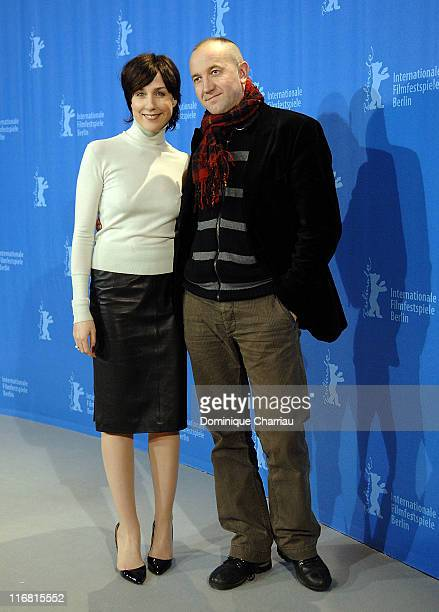 Actress Elsa Zylberstein and Director Philippe Claudel attend the 'I've Loved You So Long' Photocall as part of the 58th Berlinale Film Festival at...