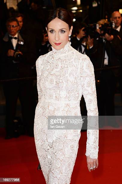 Actress Elsa Zylberstein attends the 'Only God Forgives' Premiere during the 66th Annual Cannes Film Festival at Palais des Festivals on May 22 2013...