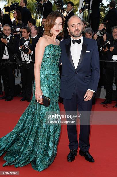 Actress Elsa Zylberstein attends the Premiere of 'Carol' during the 68th annual Cannes Film Festival on May 17 2015 in Cannes France