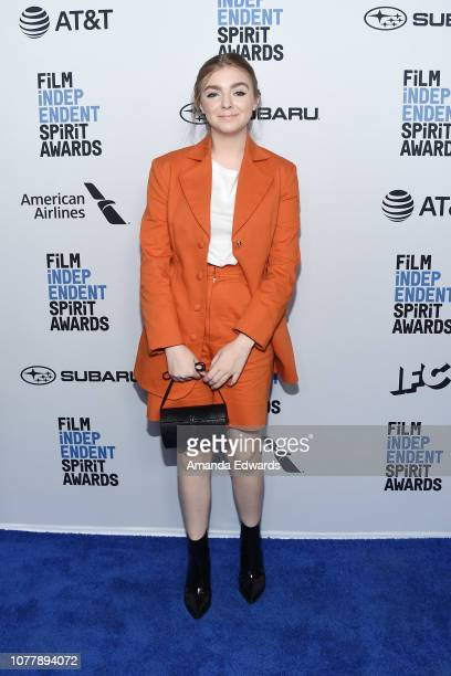 Actress Elsie Fisher attends the 2019 Film Independent Spirit Awards nominee brunch at BOA Steakhouse on January 5 2019 in West Hollywood California