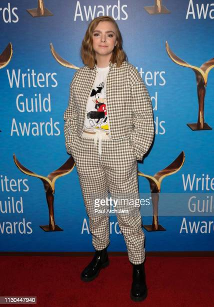 Actress Elsie Fisher attends the 2019 Writers Guild Awards LA ceremony at The Beverly Hilton Hotel on February 17 2019 in Beverly Hills California