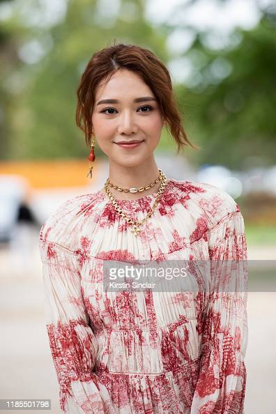 Actress Elva Ni Wears All Chloe On September 26 2019 In Paris News Photo Getty Images