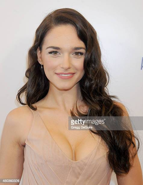 Actress Emanuela Postacchini arrives at the Los Angeles premiere of Third Person at Pickford Center for Motion Study on June 9 2014 in Hollywood...
