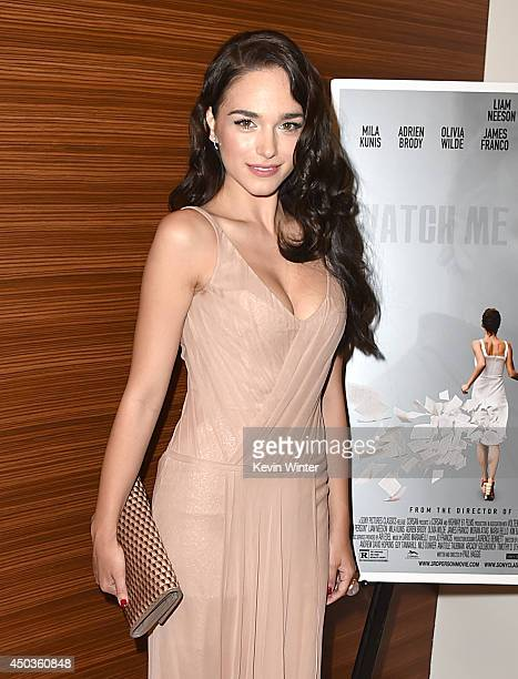 Actress Emanuela Postacchini attends the premiere of Sony Picture Classics' Third Person at Linwood Dunn Theater at the Pickford Center for Motion...